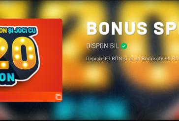 Bonus special la Maxbet!