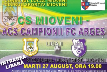 Ponturi Mioveni-FC Arges fotbal 27-august-2019 Liga 2