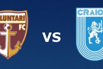 Ponturi FC Voluntari vs Universitatea Craiova fotbal 30 august 2019 Liga I Romania