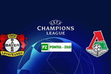 Ponturi Bayer Leverkusen vs Lokomotiv Moscova fotbal 18 septembrie 2019 Liga Campionilor