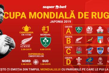 Start Cupa Mondiala de Rugby – Japonia 2019