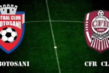 Ponturi FC Botosani vs CFR Cluj fotbal 25 septembrie 2019 Cupa Romaniei
