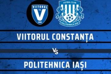 Ponturi Viitorul vs Poli Iasi fotbal 23 septembrie 2019 Liga I Romania
