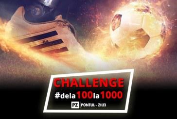 Challenge – Fotbal – De la 100 la 1000 RON
