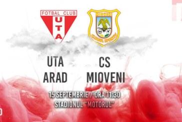 Ponturi UTA vs CS Mioveni fotbal 15 septembrie 2019 Liga 2 Romania