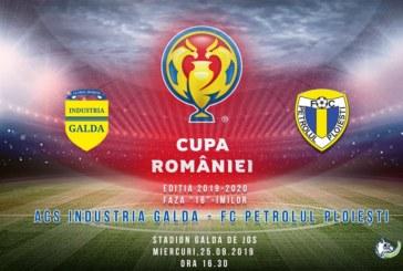 Ponturi Industria Galda-Petrolul Ploiesti fotbal 25-septembrie-2019 Cupa Romaniei