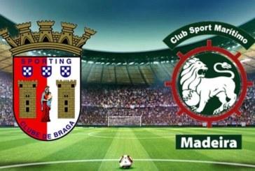 Ponturi Sporting Braga vs Maritimo Madeira fotbal 23 septembrie 2019 Primeira Liga Portugalia