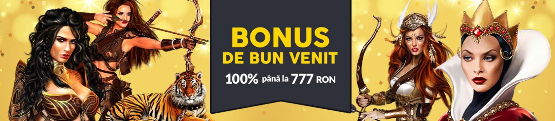 Bonus de 100% pana la 777 RON la Winbet