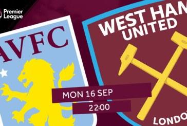 Ponturi Aston Villa-West Ham fotbal 16-septembrie-2019 Premier League