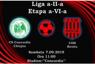 Ponturi Concordia Chiajna-CSM Resita fotbal 7-septembrie-2019 Liga 2