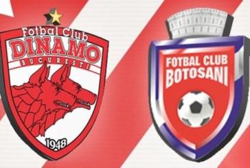 Ponturi Dinamo vs FC Botosani fotbal 14 septembrie 2019 Liga I Romania
