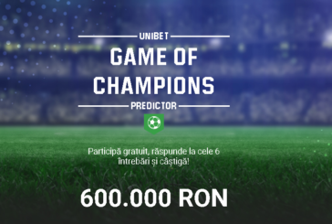 Game of Champions Predictor la Unibet!