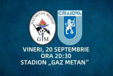 Ponturi Gaz Metan Medias-Universitatea Craiova fotbal 20-septembrie-2019 Liga 1
