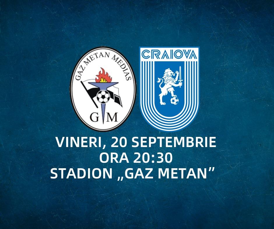 CS Gaz Metan Medias - Universitatea Craiova - CASA Liga 1 ...   Gaz Metan Craiova