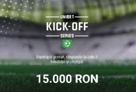Kick-Off Series la Unibet!
