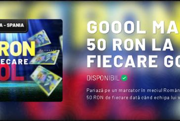 Pariezi pe marcator la Romania-Spania si castigi pariuri gratuite la MaxBet!