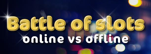 pacanele online vs offline