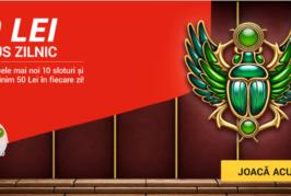 20 RON bonus zilnic la cele mai noi sloturi pe SuperBet!