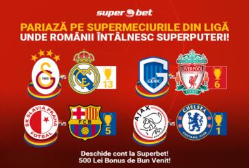 Super oferta si cote de senzatie la Superbet pentru etapa a 3 a din Liga Campionilor!