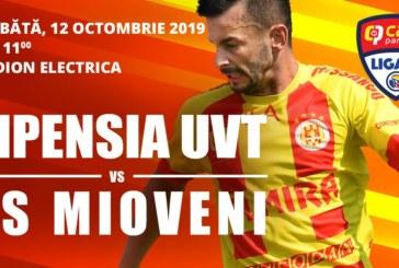 Ponturi Ripensia Timisoara vs CS Mioveni fotbal 12 octombrie 2019 Liga 2 Romania