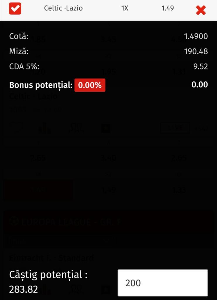 Cota Safe de la Tudor Popa – Joi 24 Octombrie – Cota 1.49 – Castig potential 283 RON