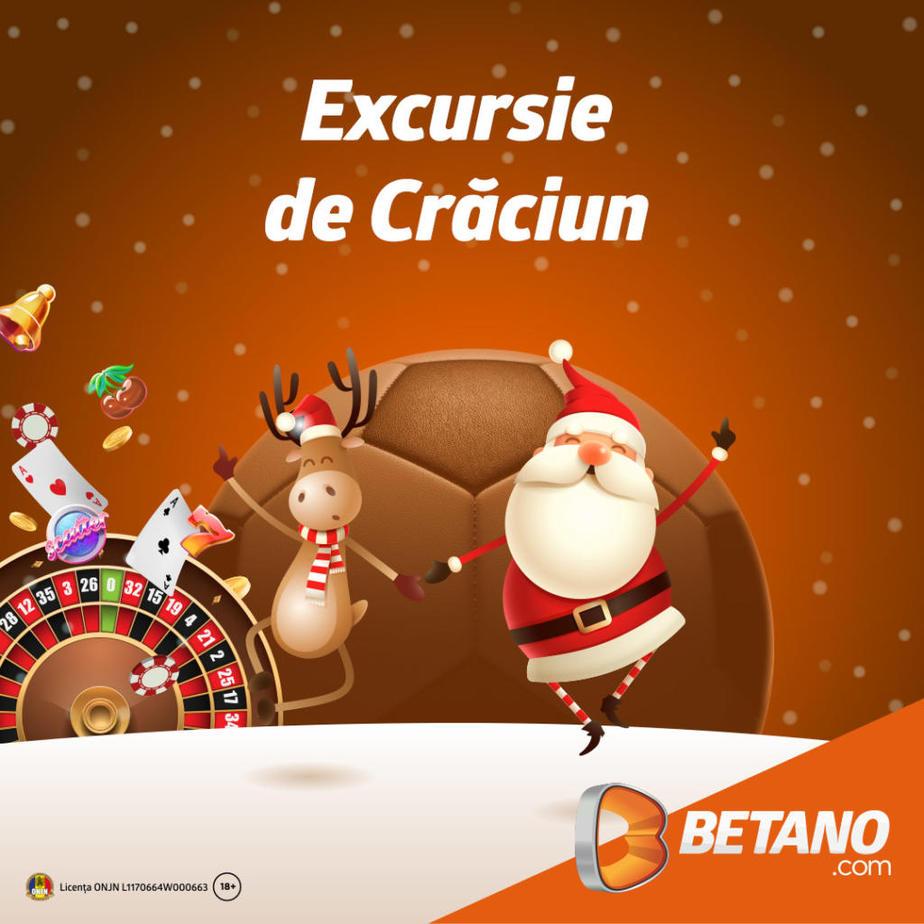 Superofertă marca Betano: câștigă un voucher de 20.000 de lei pentru vacanța de Crăciun!