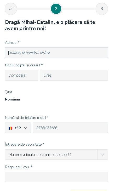 Formular inregistrare Vlad Cazino 2