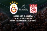Ponturi Galatasaray-Sivasspor fotbal 18-octombrie-2019 Turcia Super Lig