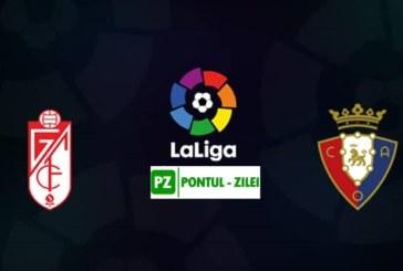Ponturi Granada vs Osasuna fotbal 18 octombrie 2019 La Liga Spania