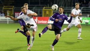 Ponturi Aue - St. Pauli fotbal 01-august-2021 2.Bundesliga
