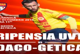 Ponturi Ripensia Timisoara-Daco-Getica Bucuresti fotbal 20-octombrie-2019 Romania Liga 2