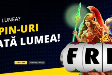 Free spin-uri in fiecare luni la Fortuna!