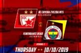 Ponturi Steaua Rosie-Fenerbahce baschet 10-octombrie-2019 Euroliga