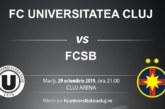 Ponturi U Cluj-FCSB fotbal 29-octombrie-2019 Cupa Romaniei