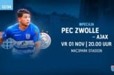 Ponturi Zwolle-Ajax fotbal 1-noiembrie-2019 Eredivisie