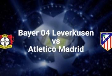 Ponturi Bayer Leverkusen vs Atletico Madrid fotbal 6 noiembrie 2019 Liga Campionilor