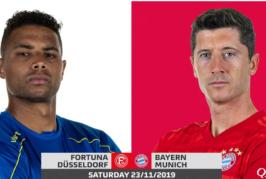 Ponturi Dusseldorf – Bayern fotbal 23-noiembrie-2019 Germania Bundesliga