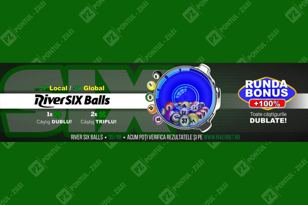 Riverbet 6 balls