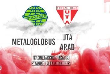 Ponturi Metaloglobus-UTA Arad fotbal 17-noiembrie-2019 Liga 2