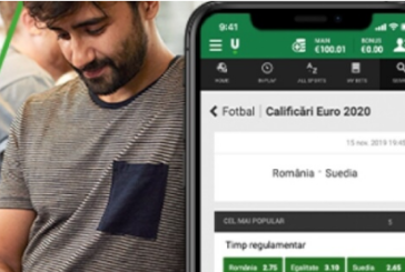 Freebet daca pariezi la Unibet pe Romania vs Suedia!