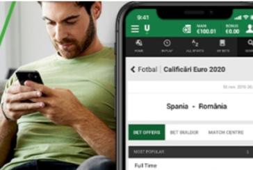 Freebet daca pariezi la Unibet pe Spania vs Romania!