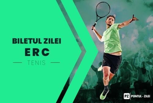 Biletul zilei tenis ERC – Vineri 23 Aprilie – Cota 2.09 – Castig potential 626 RON