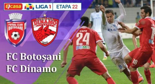 Ponturi FC Botosani vs Dinamo fotbal 19 decembrie 2019 Liga 1