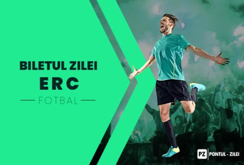 Biletul zilei fotbal ERC – Vineri 23 Aprilie – Cota 2.71 – Castig potential 1626 RON