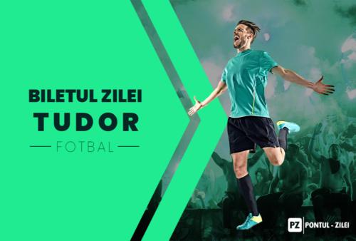 Biletul zilei fotbal Tudor  – Vineri 10 Iulie 2020 – Cota 2.18 – Castig potential 437 RON