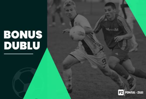 Biletul zilei fotbal BONUS DUBLU – Sambata 22 Februarie – Cota 9443 – Castig potential 300000 RON