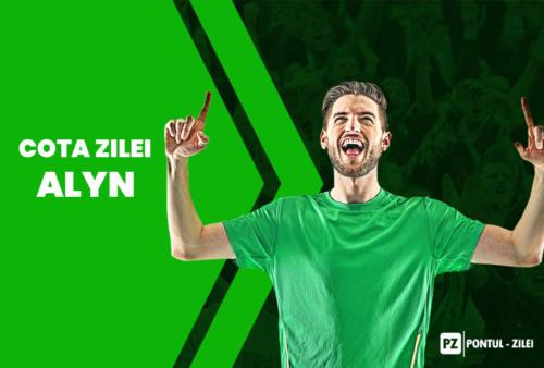 Cota zilei fotbal Alyn – Vineri 23 Aprilie – Cota 2.10 – Castig potential 420 RON