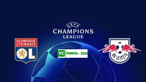 Ponturi Olympique Lyon vs RB Leipzig fotbal 10 decembrie 2019 Liga Campionilor