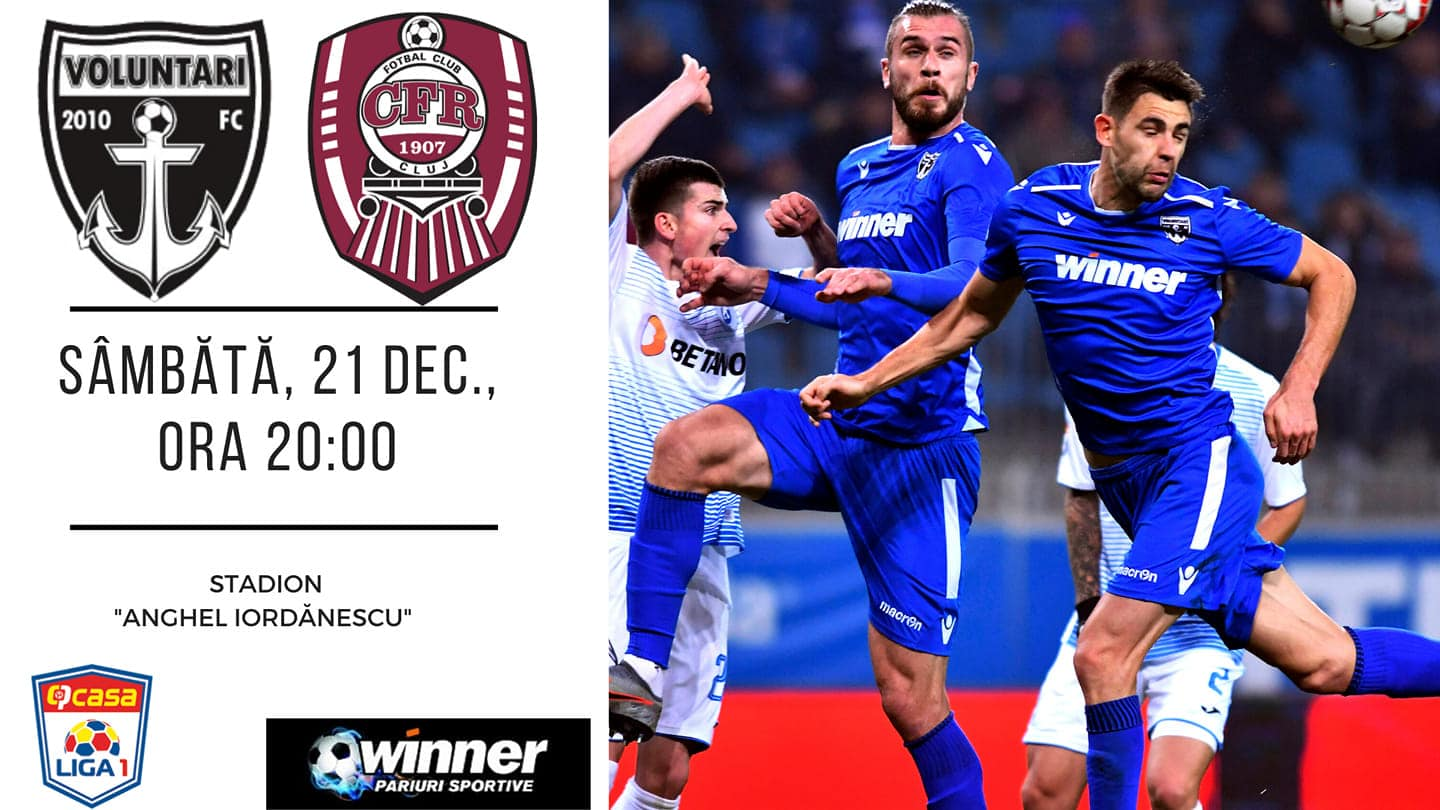 FC Voluntari vs CFR Cluj Preview, Prediction, Betting Tips