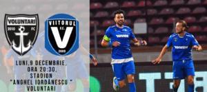 Ponturi FC Voluntari - Viitorul fotbal 9 decembrie 2019 Liga 1